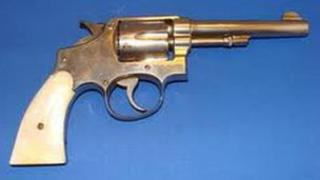 Revolver similar to the one police are trying to trace