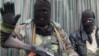 Free Syria Army fighters in Zabadani. File photo