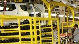 The new Renault plant in Melloussa, Morocco