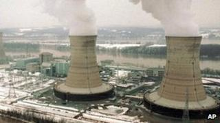 File photo of Three Mile Island 's nuclear power plant 21 Jan 1996