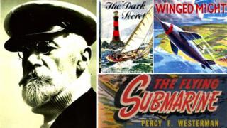 Percy F Westerman and book covers