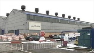 Draka factory in Derby