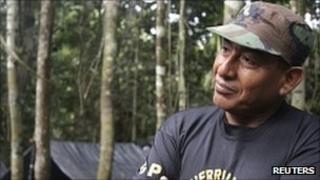 Shining Path leader 'Artemio' in December 2011, file photo.