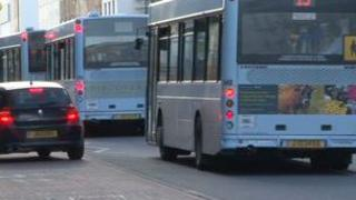 Buses in St Helier