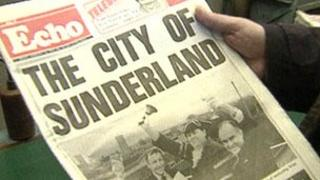 Sunderland Echo from April 1992