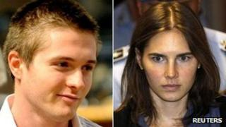 Raphael Sollecito and Amanda Knox