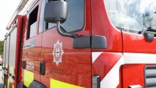 North Wales Fire Service Appliance