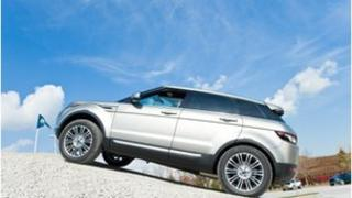 Land Rover's new Evoque model saw sales of more than 32,000 over the results period