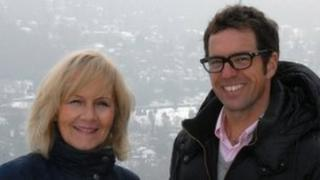 Denise Saliagopoulos and Ken Whelpdale on Box Hill