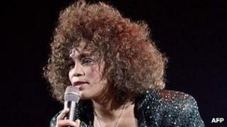 Whitney Houston in 1988