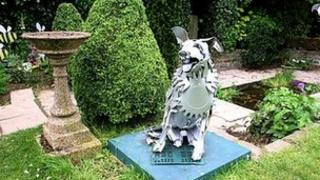 The original Blue Peter garden
