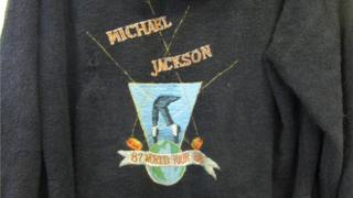 Michael Jackson tour dressing gown