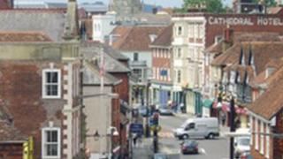 Salisbury high street