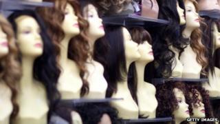 Hair, wigs, hair extensions