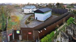 Former Newtownstewart PSNI station