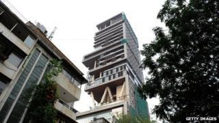 Antilla Tower, Mumbai