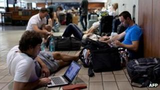 Stranded passengers Air Australia