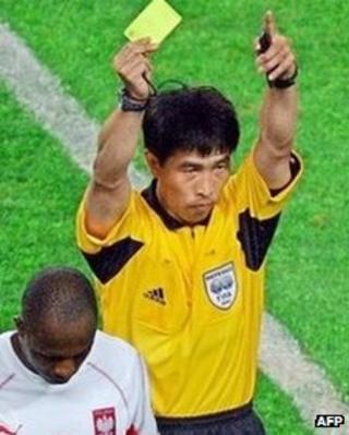 Former Chinese football referee Lu Jun