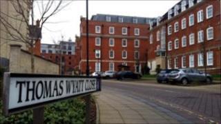 Thomas Wyatt Close, Norwich