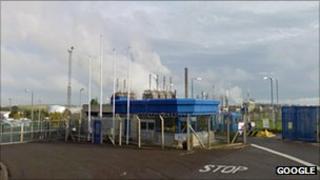 Exxon Mobil plant