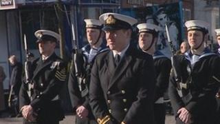 Crew of HMS Grimsby