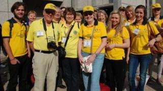 Rotary volunteers