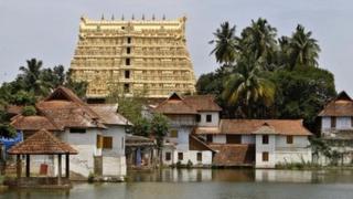Shree Padmanabhaswamy temple, Kerala, India