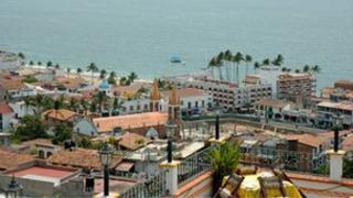 View of Puerto Vallarta