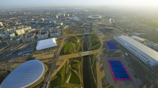 Olympic Park. Pix by Jason Hawkes