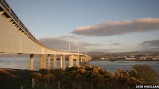 Kessock Bridge. Pic: Copyright of Iain Maclean
