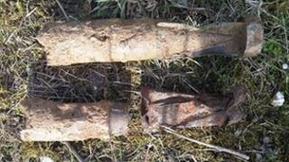 World War II bombs found in Lincolnshire