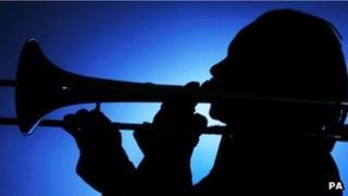 Jazz trombonist