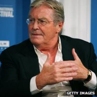 British author Peter Mayle attends a press conference during the Toronto International Film Festival on 9 September 2006