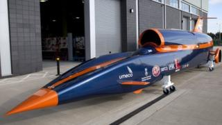 Bloodhound SSC at Northampton College