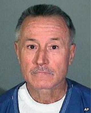 Mark Berndt undated photo released by Los Angeles sheriff's department