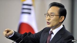 South Korea President Lee Myung-bak