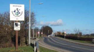 Welcome to Driffield sign
