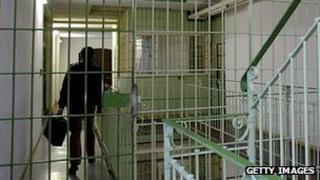 Bautzen prison, Germany - file pic