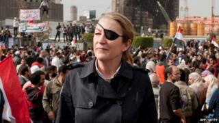 Marie Colvin was one of the reporters killed in the Syrian city of Homs, she was a war reporter from The Sunday Times newspaper.