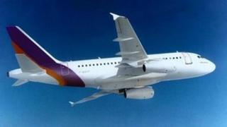 Generic unmarked plane