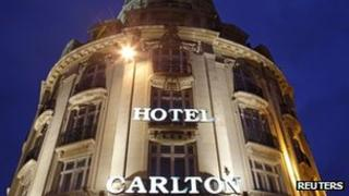 Hotel Carlton in Lille (file pic)
