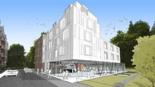 Artist impression of Luxborough Street site