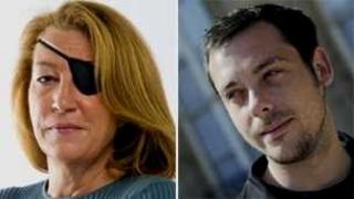Marie Colvin and Remi Ochlik (file)