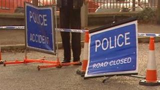 A number of roads are closed in security alerts