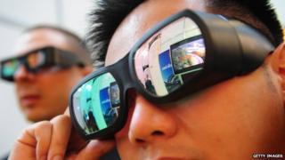3D glasses?