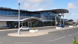 Guernsey Airport's terminal building