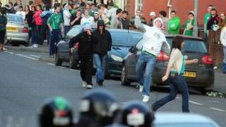 St Patrick's Day Holyland trouble