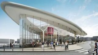 The proposed new Rochdale Interchange