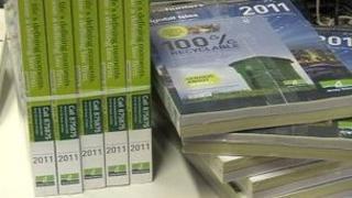 Jersey phone books