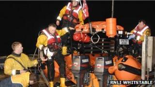 RNLI Whitstable lifeboat